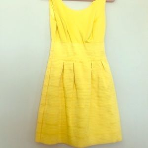 New York and Company yellow dress